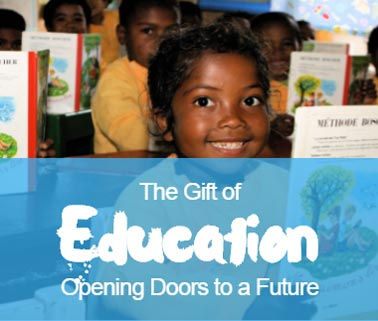 Give the Gift of an Education